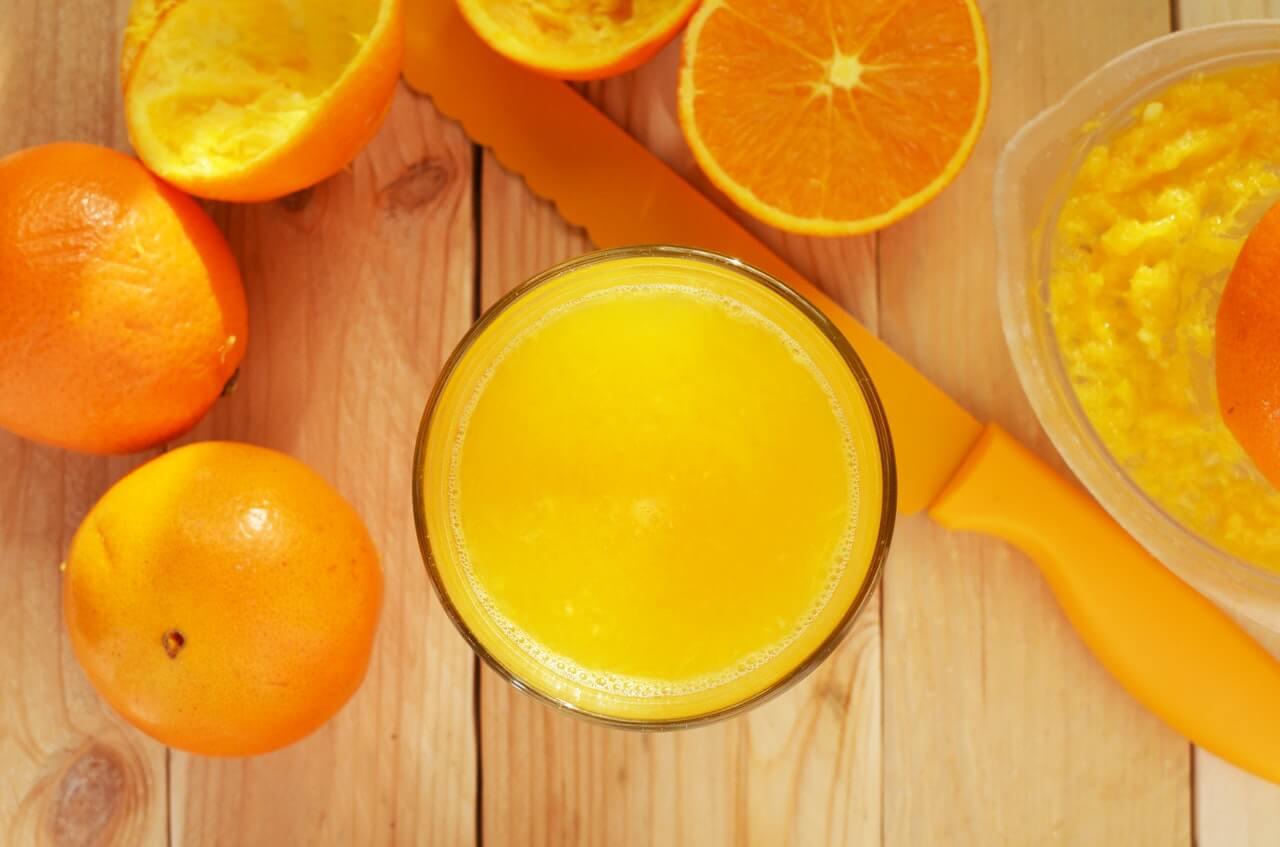Витаминизированный апельсиновый сок