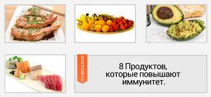 8 Продуктов, которые повышают иммунитет.